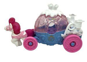 Mattel Little People Disney Princess Cinderella Musical Coach Carriage Lights