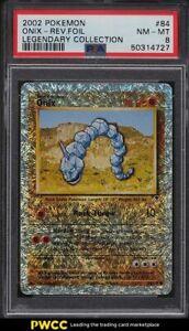 2002 Pokemon Legendary Collection Reverse Foil Onix #84 PSA 8 NM-MT