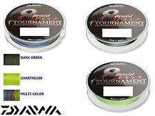 Daiwa Tournament 8 Braid Evo 50m verschidene Stärken und Farben