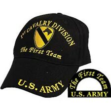 1st Cavalry Division The First Team U.S. Army Division Embroidered Cap Hat