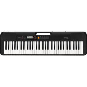 Casio Casiotone CT-S200 61-Key Portable Keyboard w/ 48-Note Polyphony - Black