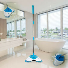 Spin Broom hand-propelled sweeper home Easy Way cleaning floor Non-electric UK