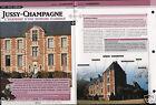 Castle Château de Jussy-Champagne Cher Centre-Val de Loire Avord FICHE FRANCE