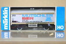 MARKLIN MäRKLIN 4415 K8058 DB MUTSCHLER BIER BIERWAGEN BEER WAGON nc
