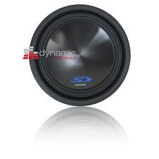 "ALPINE SWS-12D2 Sub 12"" Dual 2-Ohm Type-S Car Audio Subwoofer 1,500 Watts New"