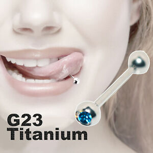 Barbell Tongue Rings Nipple Piercing Surgical Stainless Steel Ball Body Jewelry