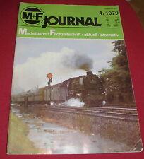 dachbodenfund zeitschrift heft MF modellbahn + fachzeitschrift journal 1979 alt