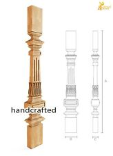 Interior wood balusters for sale - Stair parts (10 pc.)