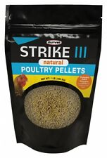 Strike III Natural antibiotic-free poultry pellets support digestive health 1lb