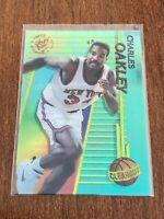 1994-95 Stadium Club Basketball Clear Cut - Charles Oakley - New York Knicks