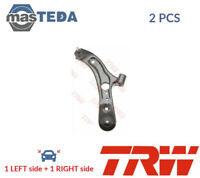 2x TRW LOWER FRONT OUTER LH RH TRACK CONTROL ARM PAIR JTC2247 P NEW
