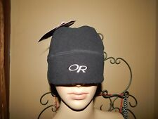 NWT ~ OR Outdoor Research ~ M ~ Black Fleece Windstopper Endeavor Hat