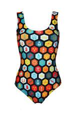 Abbigliamento multicolori per il mare e la piscina da donna Taglia torace XL