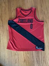 Damian Lillard Portland Trailblazers Jersey Rip City Size 56