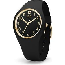 Wristwatch ICE WATCH GLAM IC.015338 Silicone Black Golden Small Sub 100mt