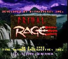 Primal Rage - Fun SNES Super Nintendo Game