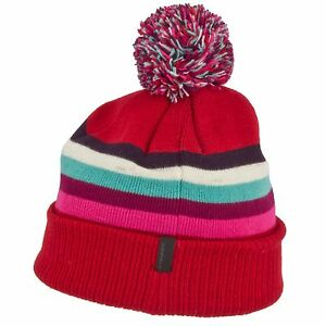 SEIRUS 3188 YOUTH GIRLS JR SPECTRUM SKI SNOWBOARD WINTER SNOW HAT BEANIE CAP LID
