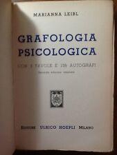 GRAFOLOGIA PSICOLOGICA - HOEPLI 1942 - XX