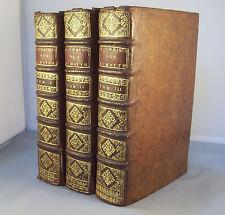 HOMELIES OU SERMONS DE S. JEAN CHRYSOSTOME... S. MATTHIEU 3 Vol. / PRALARD 1693