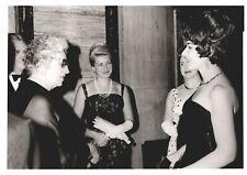 MARIA CALLAS Opera Soprano ORIGINAL photo speaking to fans at a party