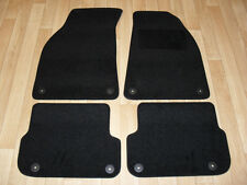 Audi A6 (2005-2011) Fully Tailored Car Mats in Black - 340mm rear