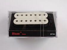 DiMarzio Blaze 7 String Neck Humbucker White W/Chrome Poles DP 700