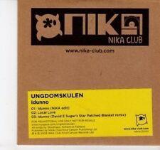 (DI16) Ungdomskulen, Idunno - 2009 DJ CD