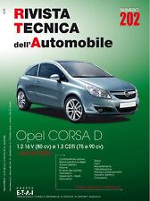 Manuale tecnico per la riparazione e la manutenzione dell'auto - Opel Corsa D