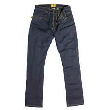 Draggin TWISTA Herren Motorrad Jeanshose Textil - blau