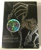 Blood and Beast SILVER Playing Cards Deck LIMITED EDITION Rare Poker New Sealed