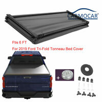 Tri-Fold 6 FT Tonneau Bed Cover Fits For 2019 -2021 Ford Ranger
