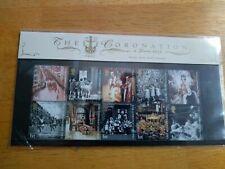 Sealed Mini- sheet 50th Anniversary Coronation Queen Elizabeth