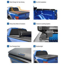 5.5' Short Bed Roll Up Soft Tonneau Cover for 2004-2018 Ford F-150