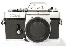 MINOLTA XE-1 35 mm SLR Film Camera Body ** FILM testé **