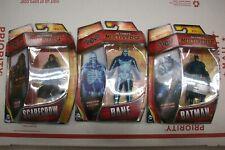 DC Comics Multiverse Arkham Knight Batman, Bane, Scarecrow 4 Inch Action Figures