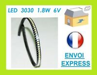 LED Per TV Screen Riparazione - Lextar 3030 - 6V - 1,8W - Qty 1-2-4-6-8-10-20
