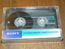 SONY DC-90 Leerkassette Dictation Cassette neu in Folie, vintage audio tape