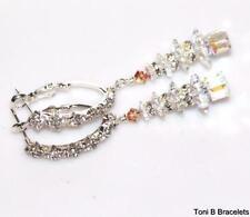 Handmade Leverback Silver Plated Fashion Earrings