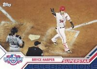2017 Topps Opening Day Superstar Celebrations #SC-23 Bryce Harper Nationals