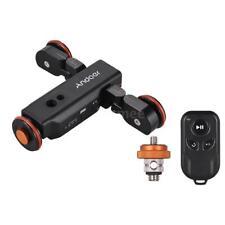 Pro Motorized DSLR Camera Video Tripod Dolly Electric Camera Track Slider Skater