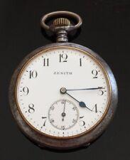Antique Zenith Pocket Watch c.1900  / montre gousset