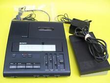 SONY BM-77 Cassette Transcriber, ac adapter, pedal, headset WARRANTY