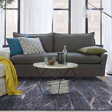 Grey Blue Floor Rug Abstract Hills Pattern Super Soft Bedsides Carpet 120x170cm