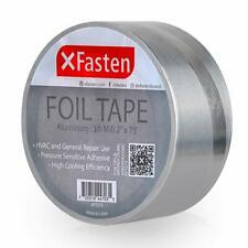 New listing Xfasten Aluminum Foil Reflective Duct Tape, 2 Inches x 75 Feet, 3.6 mil