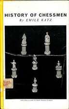 History of chessmen, Emile Katz, Good Condition Book, ISBN