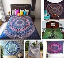 Wholesale Lot 10 Pcs Tapestry Mandala Indian Wall Hanging Bohemian Twin Yoga Mat