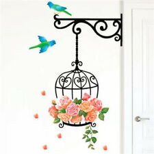 FD2458 Home Decor Craft Sticker Bedroom Toilet Wall DIY Sticker ~Big Bird Cage~