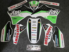 Kawasaki KXF250 2009-2012 Factory FX Two Two Motorsports graphics kit GR1195