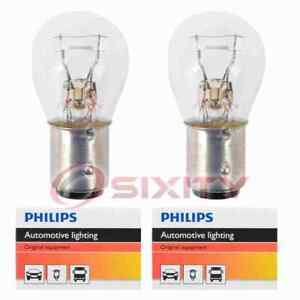 2 pc Philips Brake Light Bulbs for Chevrolet Blazer C10 C10 Panel C10 Pickup bf