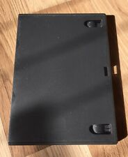 x5 Black/Grey Jewel DVD Case - Double Holder - Used, But In Excellent Condition